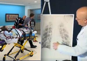 """""""Od smrti ho dělily dny."""" Kluk (17) si zničil plíce vapováním, zachránila ho transplantace"""