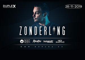 Zonderling vystoupí v Praze 28. listopadu.