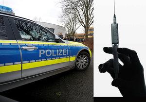 Policie pátrá po muži, který třináctileté dívce vpíchl neznámou látku.