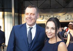 Michaela Kuklová s partnerem Josefem Wittnerem
