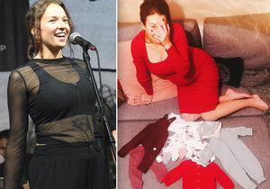 Oblečky ji prozradily! Bude mít Berenika Kohoutová holku, nebo kluka?
