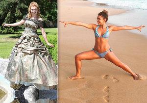 Denisa Pfauserová si užívá dovolenou na Srí Lance