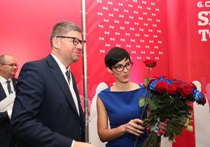 Markéta Pekarová Adamová se stala novou šéfkou TOP 09 (23. 11. 2019)