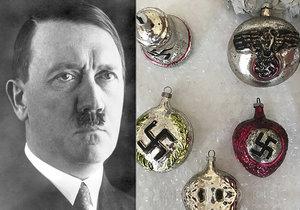 Hitlerova hlava i hákový kříž: Stanislav na internetu prodával nacistické vánoční ozdoby