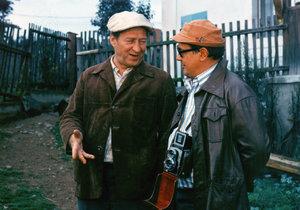 S Josefem Vinklářem v roce 1975 v Chalupářích