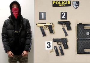 Kriminalisté dopadli pětici zlodějů, kteří řádili v Praze. Nejmladší z nich je ještě na základce!