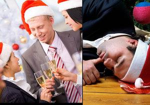 Máte při zranění na vánočním večírku právo na odškodnění? (Ilustrační foto)