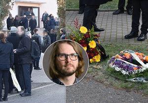 Pohřeb docenta Jaroslava Křivánka (6. 12. 2019)
