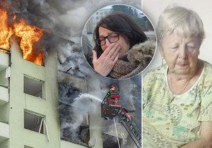 """""""Emília zřejmě našla smrt v plamenech. Oheň její byt změnil v krematorium!"""" líčí dcera Ingrid."""