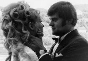 Karel Svoboda se svojí manželkou Hanou