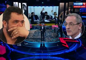 V ruské televizi řešili, že v Řeporyjích odhlasovali návrh na Novotného pomník vlasovcům. Historik doporučil postavit jako pomník šibenici