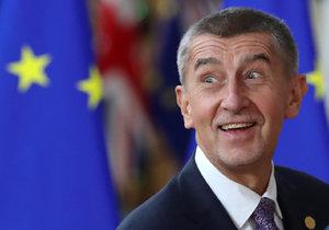 Andrej Babiš na summitu v Bruselu, kam se lídři vydali řešit klimatické závazky