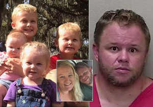 Umlátil basebalovou pálkou svou manželku a pak postupně usmrtil jejich 4 děti!