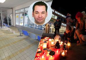 Policie odložila případ střelby v ostravské nemocnici: Vitásek spáchal rozšířenou sebevraždu