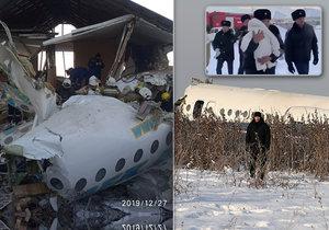 Letecké neštěstí v Kazachstánu, (27.12.2019).