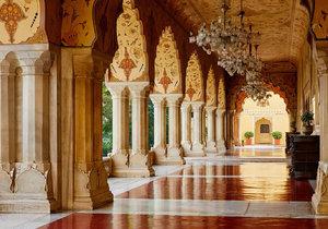 Airbnb nabízí apartmá v královském paláci v indickém Džajpuru.