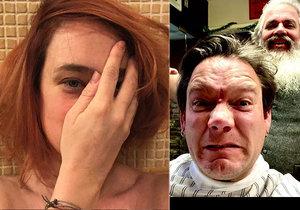 """Po natáčení """"postřižiny"""": Kdo skončil v rukou kadeřníka?"""