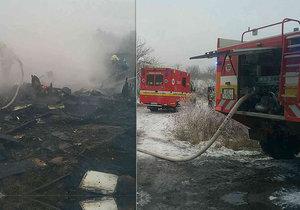 Tragický požár v Košicích. Zemřely tři děti.