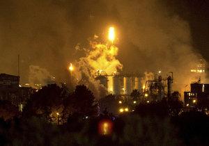Chemickou továrnou ve Španělsku otřásl výbuch. Na místě je několik obětí (14. 1. 2020)