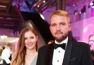 Ples jako Brno: Libor Bouček s manželkou Gabrielou