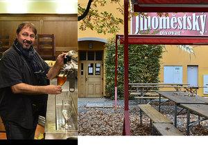 František Richter od roku 2008 vede Jihoměstský pivovar v Praze 11. S vedením pivovarů a vaření piva má zkušenosti jako málokdo.