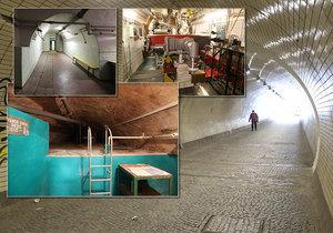 Podzemní prostory pod vrchem Vítkov skrývají nejen rozsáhlý komplex vyztužených chodeb, které mají sloužit jako protiatomový kryt, ale také tajnou laboratoř s urychlovačem částic.