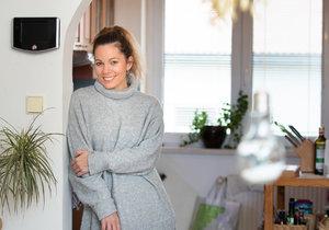Michaela Nosková ukázala své bydlení ve Staré Boleslavi