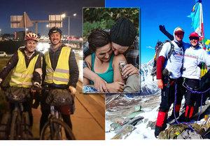 Eliška a Tim vyráží na cestu kolem světa: Na tříletou pouť jim stačí krosna a kolo!