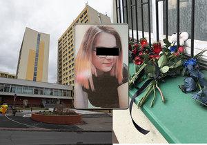 Dívka se zřítila z 12. patra kolejí Kajetánka, na místě zemřela.