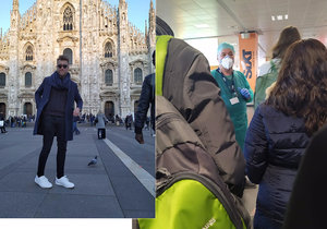 Martin Š. (28) byl na dovolené v Itálii zrovna v době, kdy se zde objevili noví nakažení Covidem-19. Tvrdí, že na českém letišti se o ně nikdo nezajímal, a to i přesto, že se vrátil z rizikové oblasti.