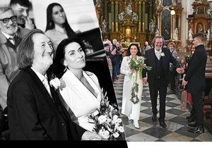 Třetí svatba Bolka Polívky: Oficiální fotky a informace z utajované veselky!