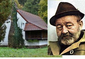 Vloupání do chaty Jana Wericha na Klatovsku: Zloděj vzal sekeru z kůlny a rozbil okno