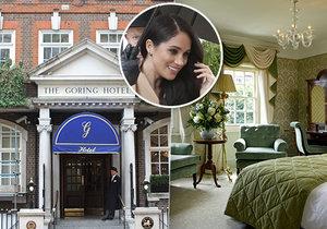 Hotel The Goring tento týden hostí Meghan Markleovou.