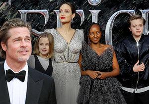 Angelina Jolie a Brad Pitt jsou stále ve při