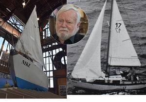 Mořeplavec Konkolski dovezl slavnou Niké do rodného kraje: Loď stavěl ve sklepě paneláku