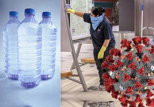 Virus se nejdéle drží na plastech (ilustrační foto)
