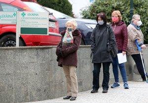 Koronavirus ONLINE: 5000 Kč pro důchodce odklepli poslanci. A 6604 hospitalizovaných v ČR