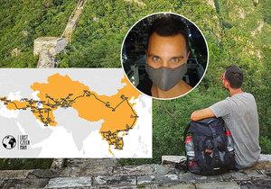 Martin z Pardubic cestuje po celém světe. Kvůli koronaviru uvízl v Asii.