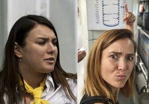 """Ewa Farna se na instagramu """"rafla"""" s Radkou Třeštíkovou."""