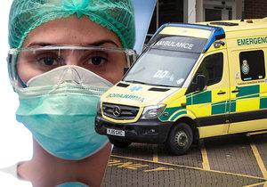 K sebevraždě sestry mělo údajně dojít v jedné z londýnských nemocnic, kde zemřelo během krátké doby osm pacientů s koronavirem.