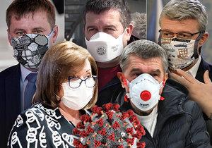 Ministři kvůli koronaviru opustili své rodiny