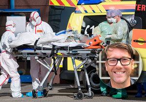 """""""Dva pacienti mi zemřeli před očima."""" Jozef (40) popsal hrůzu z jednotky intenzivní péče."""