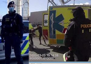 Během svačiny se najednou skácel k zemi! Policista popsal dramatickou záchranu muže (54) v Praze 9