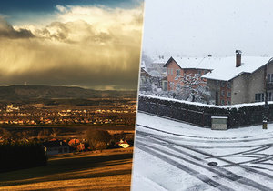 At the weekend it warms up to 17 ° C and the time changes. It will be snowing on Monday