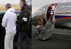 Zadrželi podnikatele Skořepu, který vytuneloval půl miliardy: Do Arábie pro něj letěl armádní speciál.