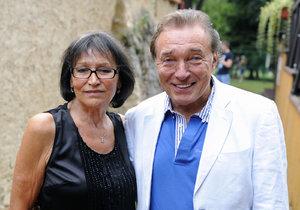 Karel Gott a Marta Kubišová