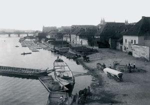 Nevěstince a špinavá řemesla: Na pražské náplavky se v 19. století rozhodně nechodilo korzovat