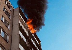 Požár v Šumperku