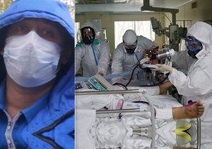 Už třetí ruský lékař s koronavirem Šulepov (37) v době koronavirové krize vypadl z okna nemocnice.