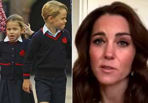Princ George žárlí na sestru? Vévodkyně Kate promluvila o nástrahách domácí výuky!